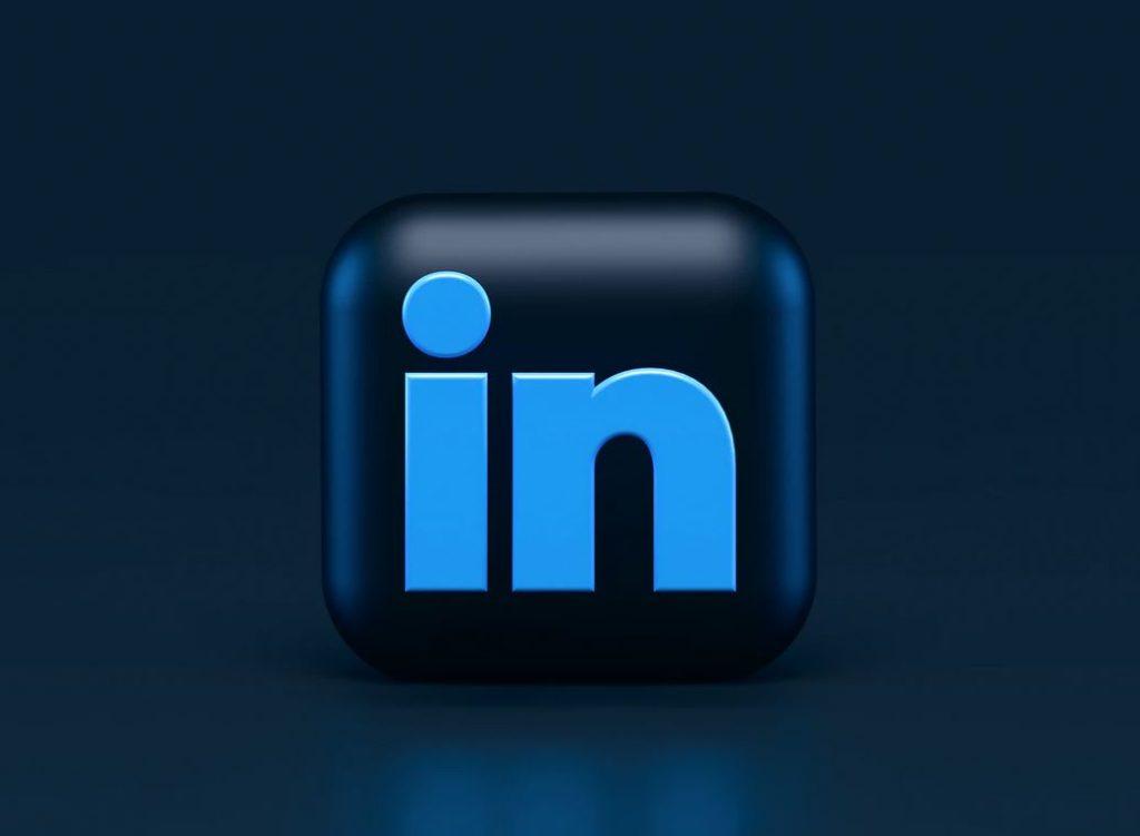 linkeding le logo de la plateforme d'emploi en bleu clair et foncé